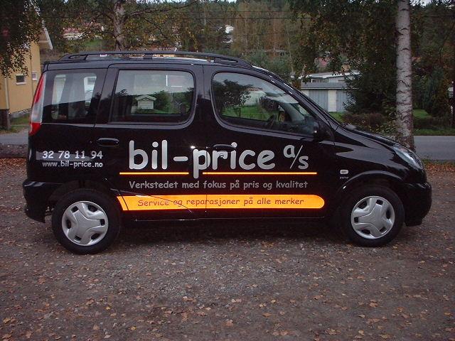 service bil pris